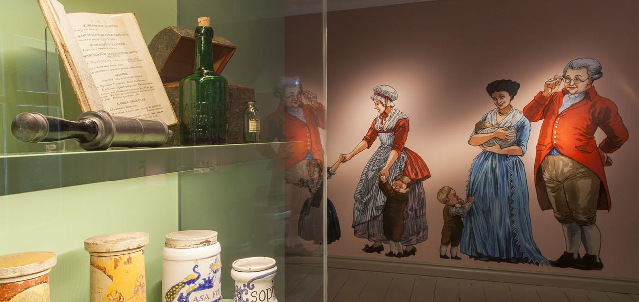 Apteekkimuseo ja Qwenselin talo, kuva: Turun museokeskus, Raakkel Närhi