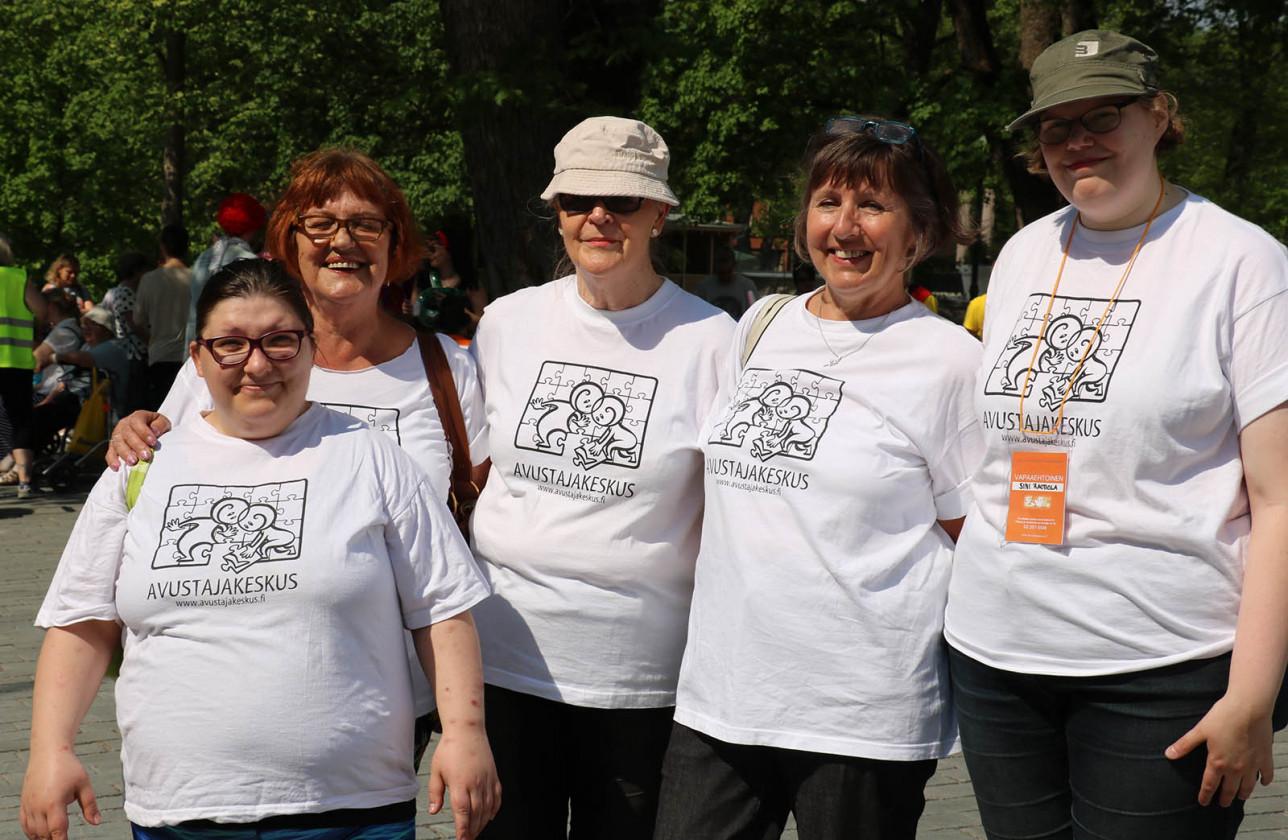 Avustajakeskuksen vapaaehtoiset
