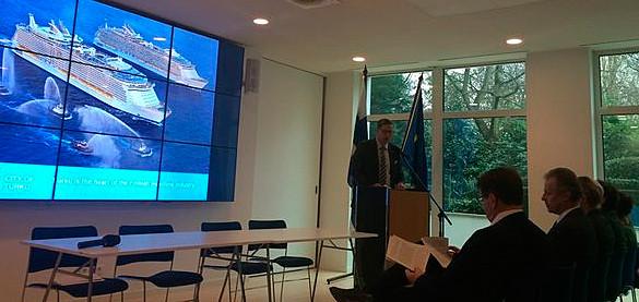 Euroopan meripäivien tiedotustilaisuus Brysselissä 18.11.2015
