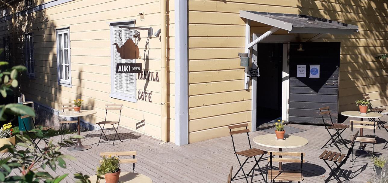 Kahvila Kisälli terassi