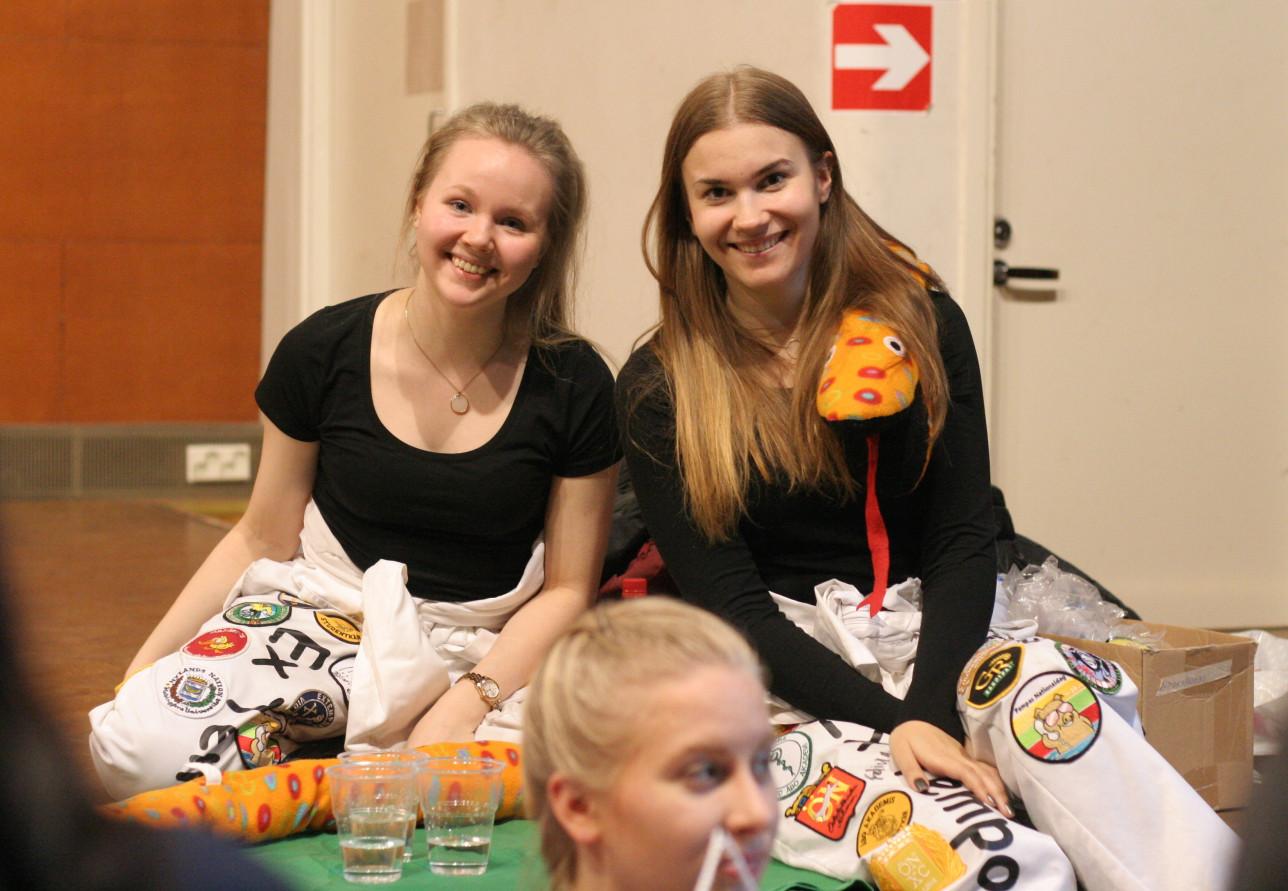Åbo Akademin opiskelijoita