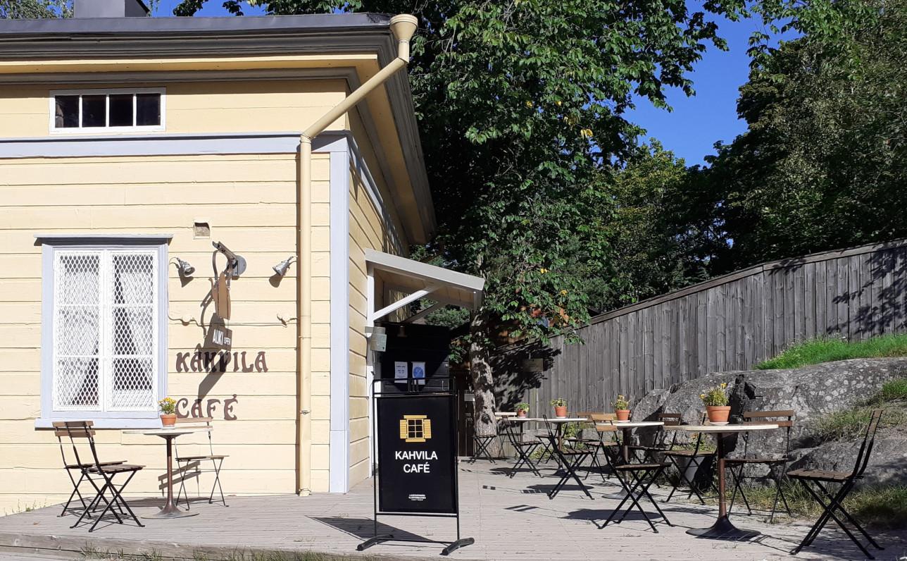 Kahvila Kisälli rakennus