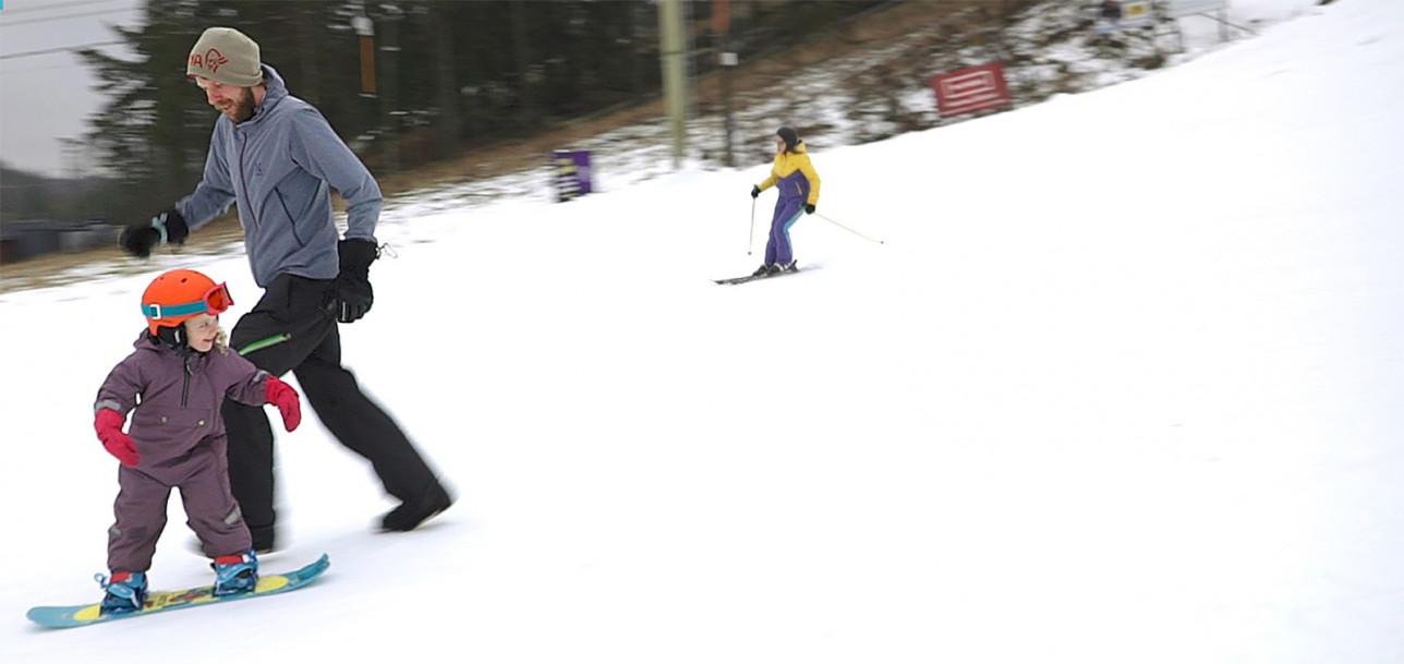 Hirvensalon hiihtokeskus avattiin 9.2.2020.