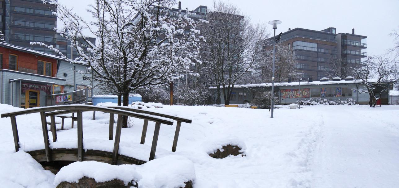 Talvinen Seikkailupuisto