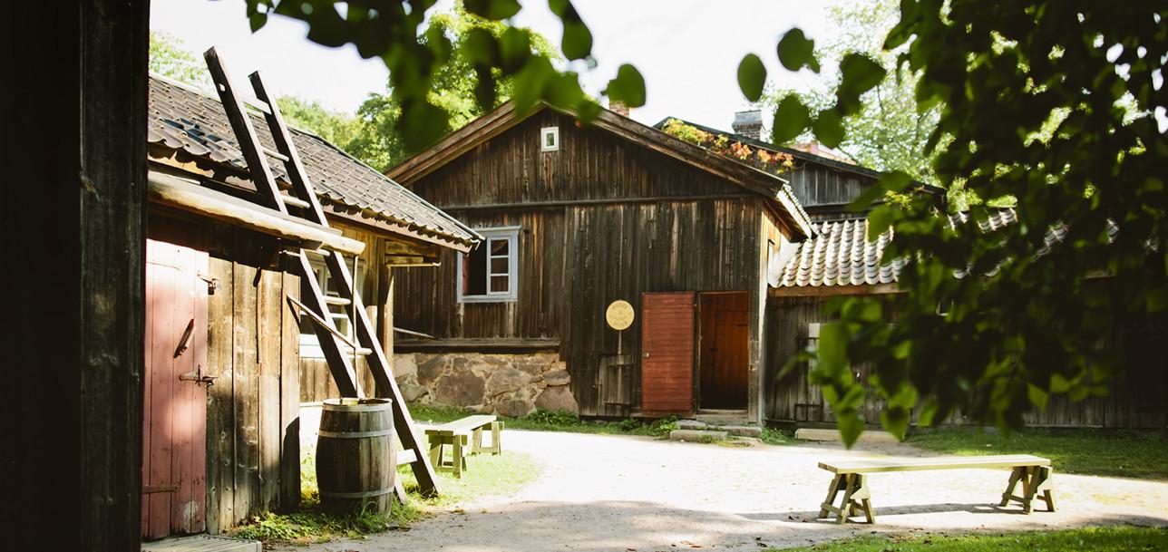 Luostarinmäen käsityöläismuseon postin talo