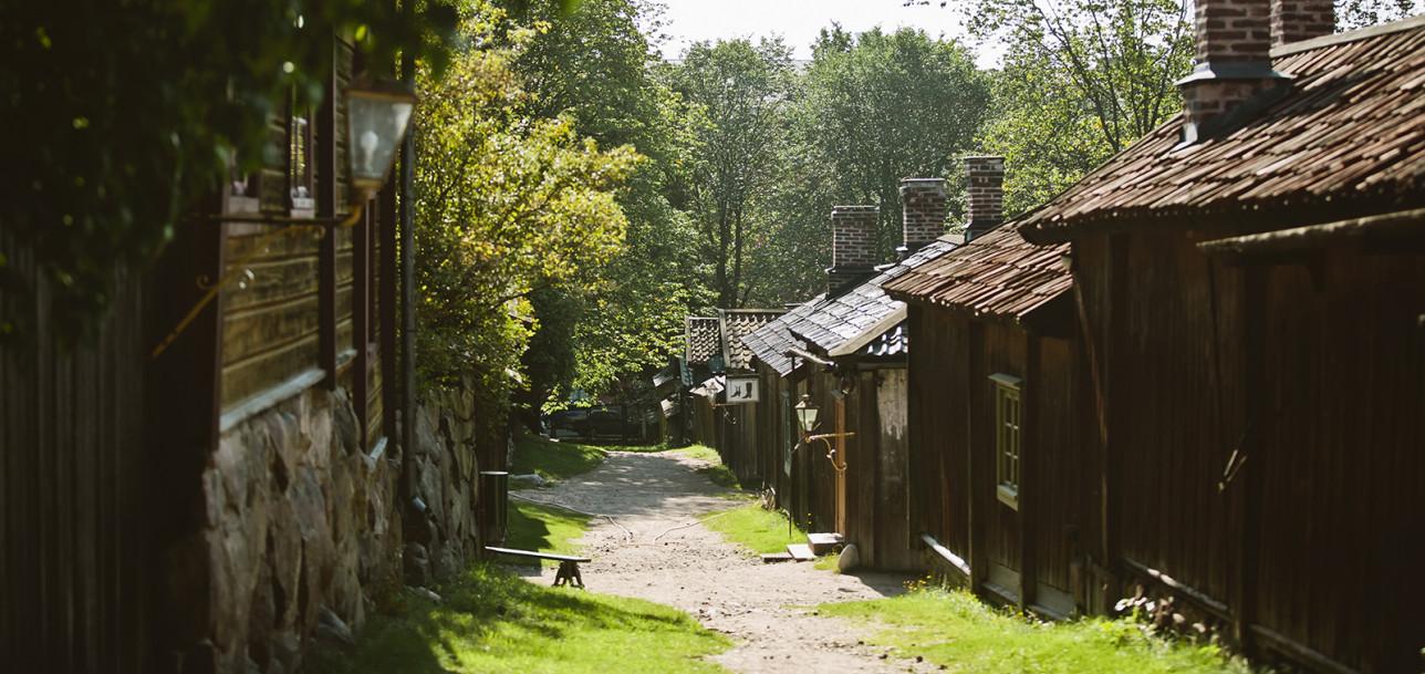 Gränd på Klosterbacken.