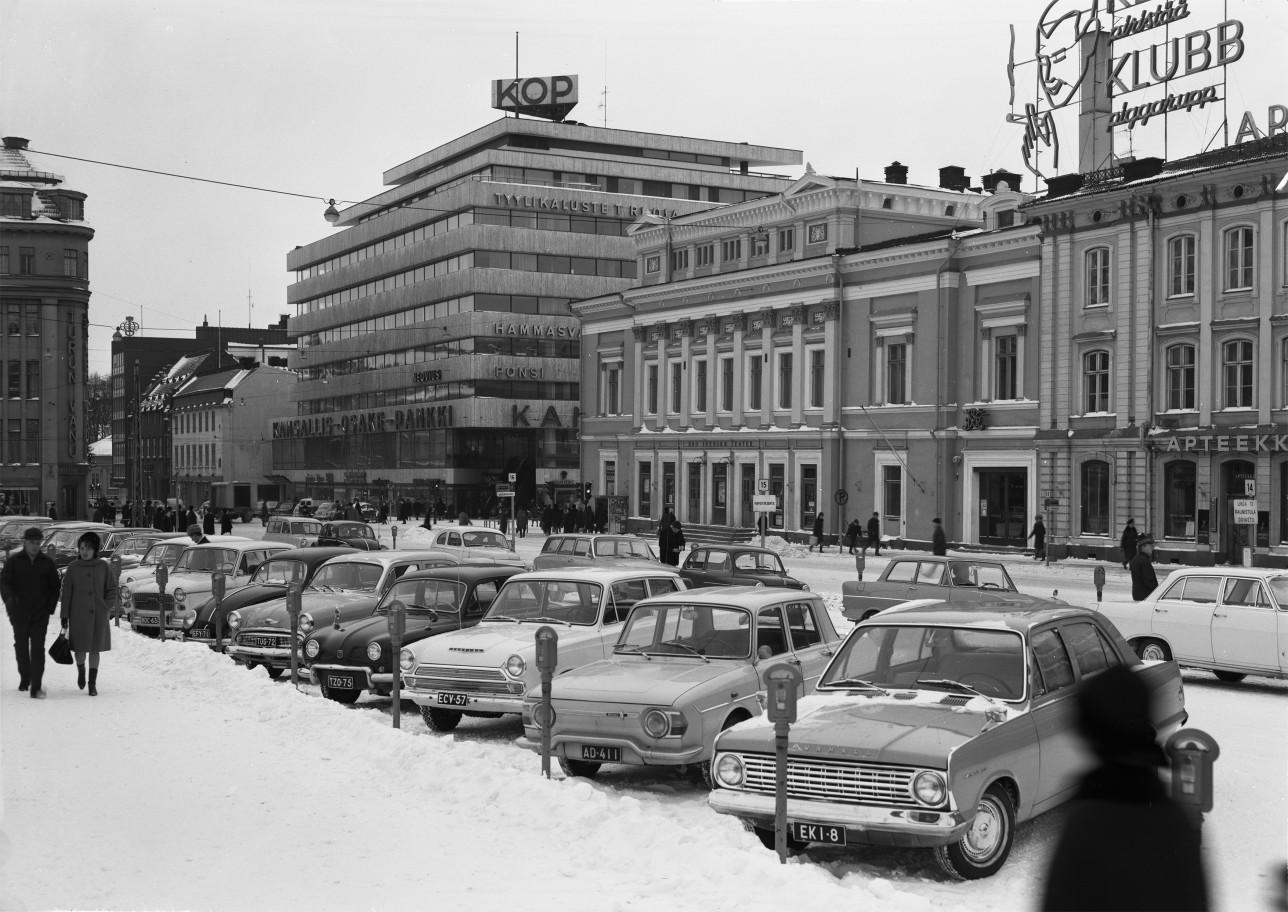 Turun keskusta 50-luvulla