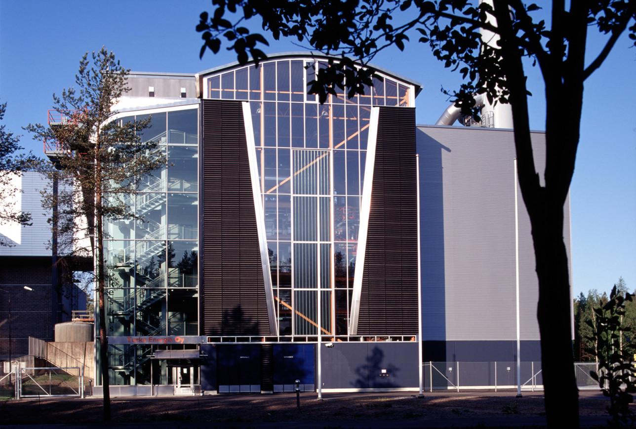 Orikedon biolämpökeskus. Kuva: Turku Energia