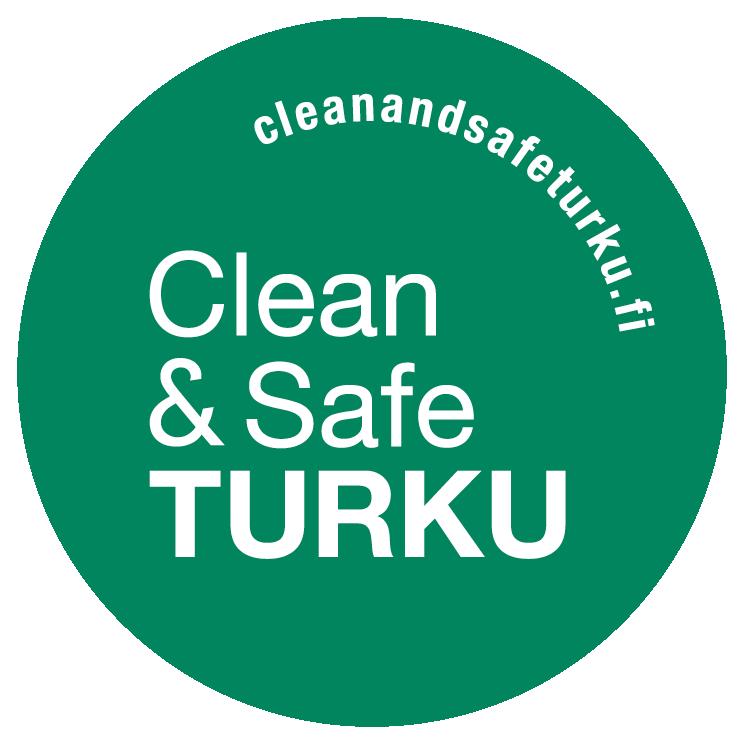Clean & Safe Turku-logo