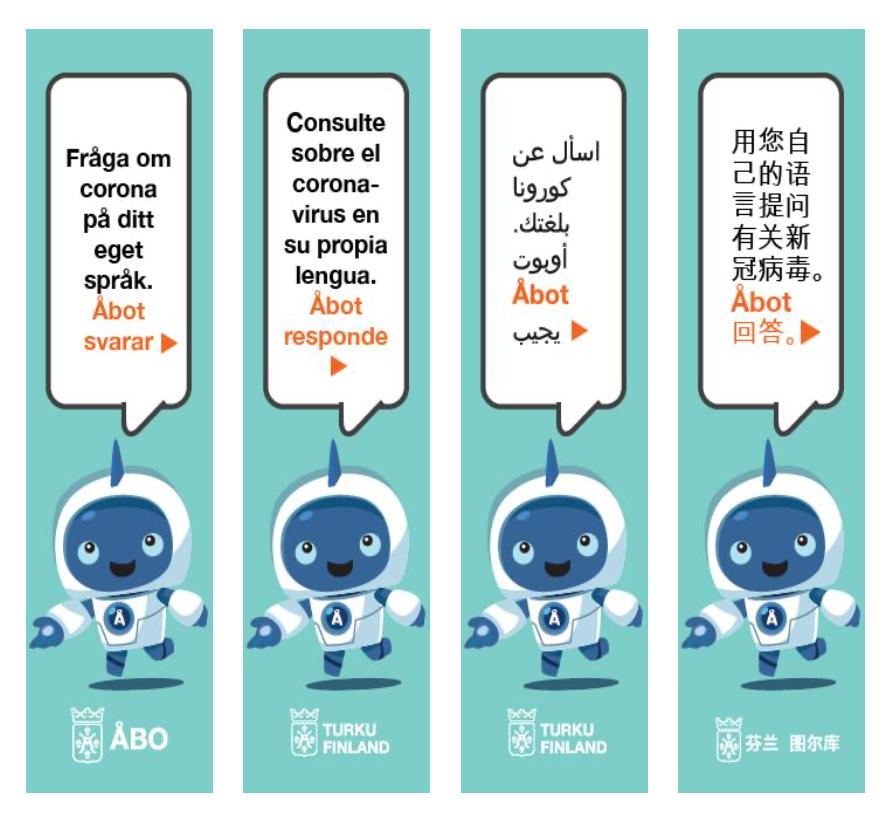 Language robots