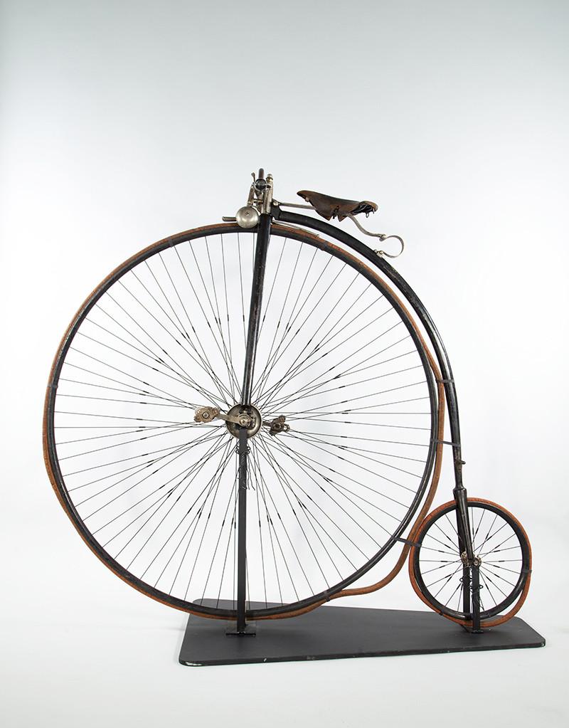 Henning von Rettigin polkupyörä. Kuva: Mikko Kyynäräinen, TMK