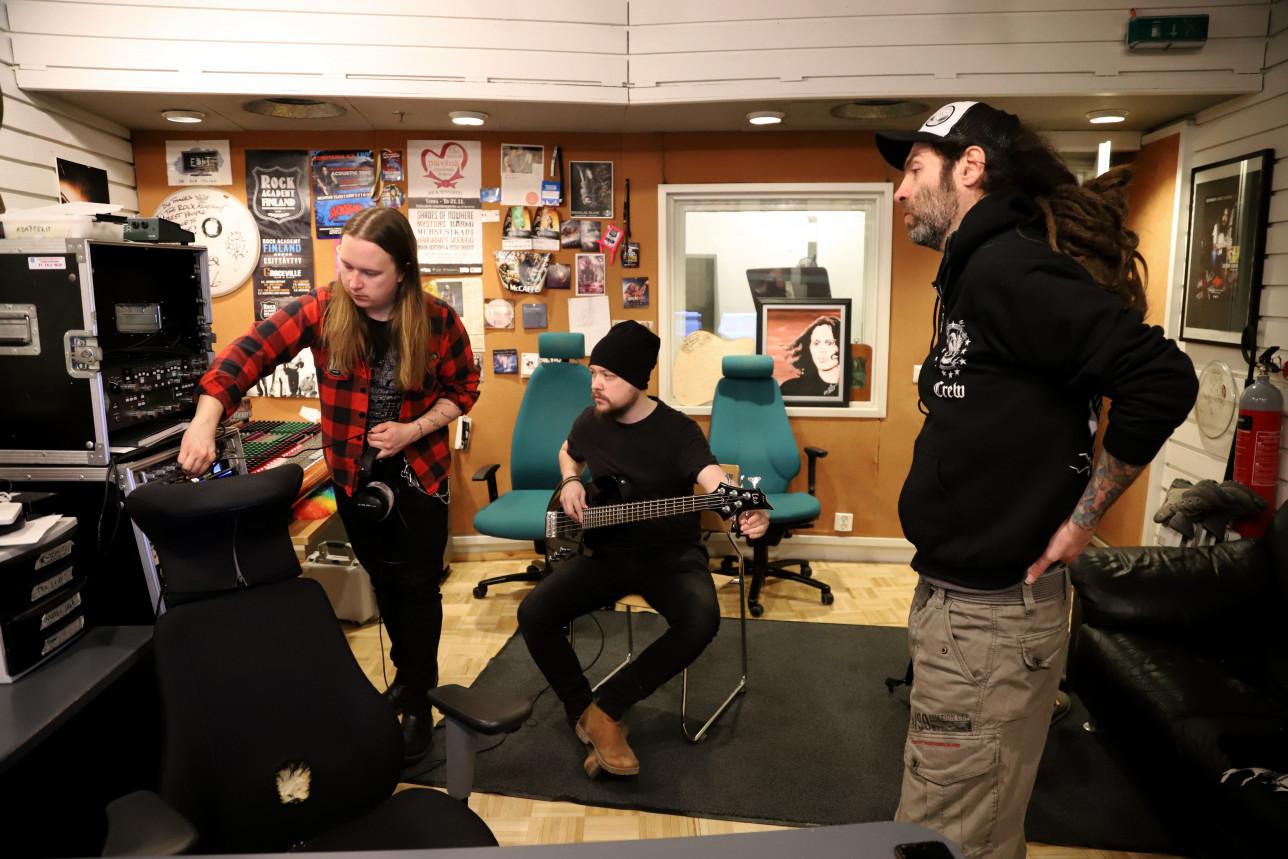 Studio, turku Rock Academy