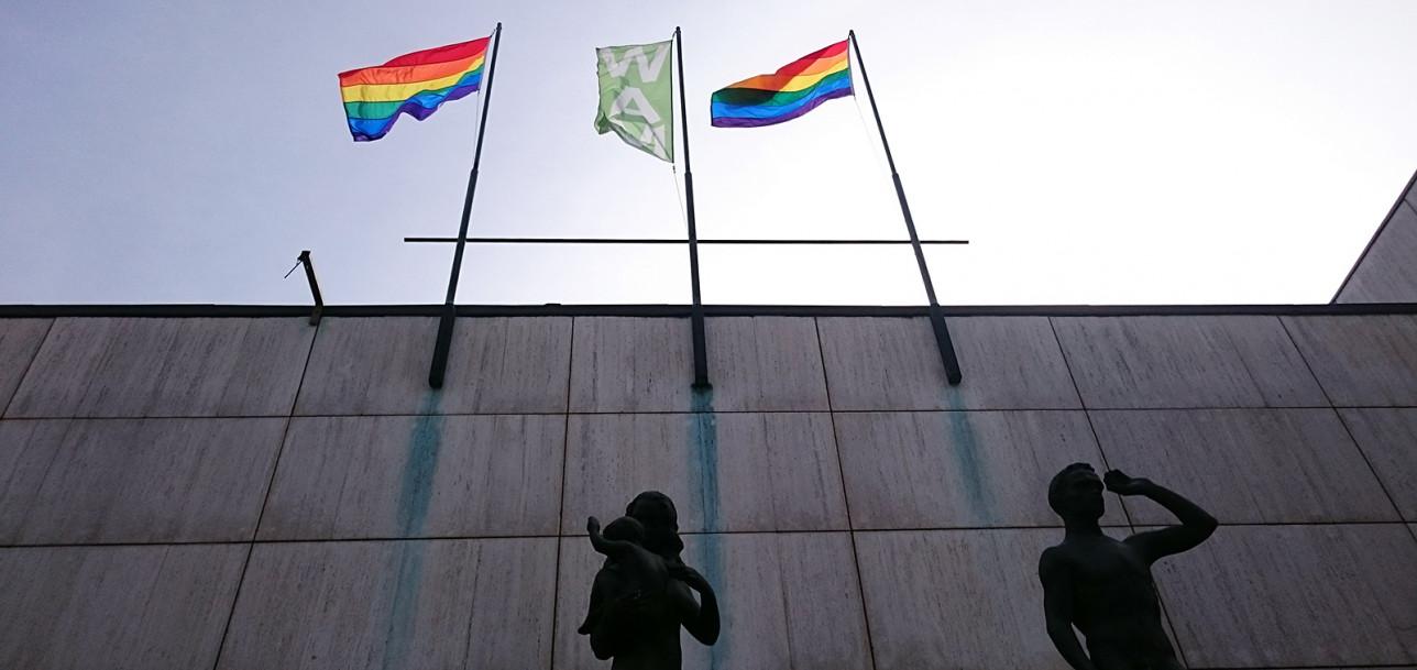 Pride-liputus Wäinö Aaltosen museolla