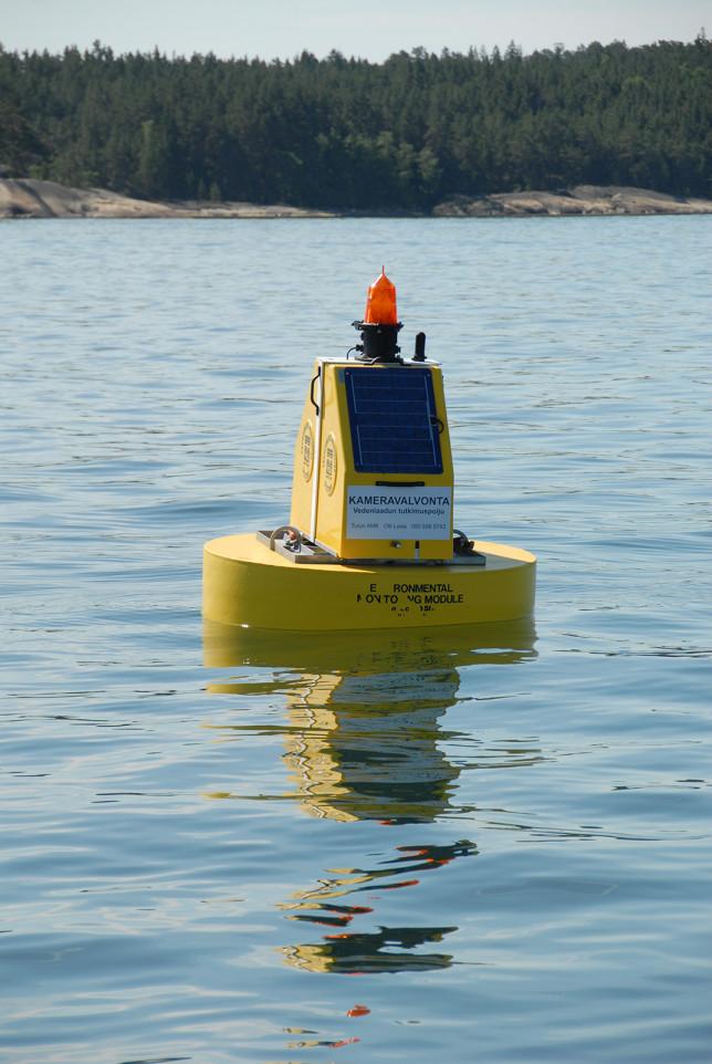 Vedenlaadun poijumittausasema Saaristomerellä
