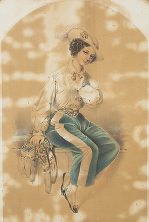 Célestin Deshays (n. 1817–1896): Gamin coquet.