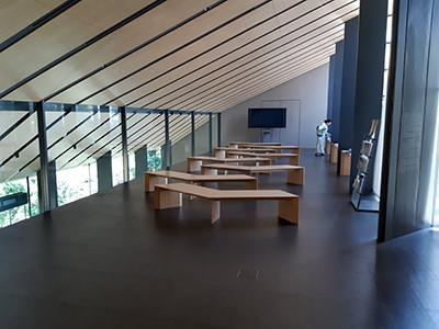 Japanin Nezu-museon ilmavaa arkkitehtuuria