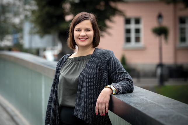 Kaupunginvaltuuston puheenjohtaja Elina Rantanen