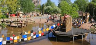 Ystävyyden silta Seikkailupuistossa