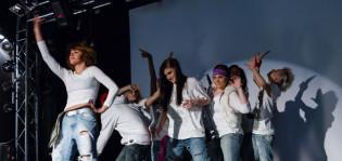Tanssivat nuoret Vimmassa