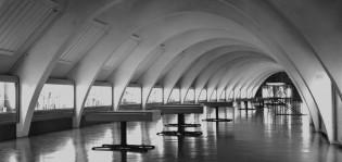 Turun linnan pohjoinen näyttelyhalli. Kuva: P. O. Welin