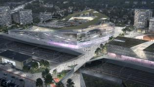 Ratapihan alueen arkkitehtikilpailun voitti PES-Arkkitehdit Oy:n kilpailutyö nimeltä Luoto