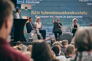 EU:n tulevaisuuskeskustelu Turun Eurooppa-foorumissa