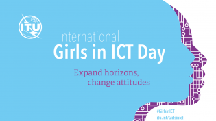Girls in ICT logo