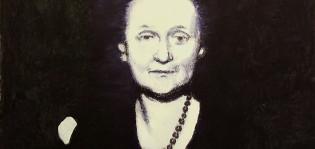 Hannu Väisänen: Anna Ahmatovan muotokuva (rajattu), 2017.