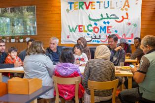 Vuoden monikulttuurisuusteko Heinänokan hätämajoituskeskus
