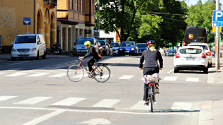 Humalistonkadun pyöräily