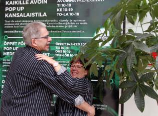 Heikki ja Maarit humppaavat Kansalaistilassa