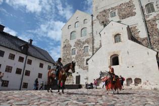 Turun linnan piha