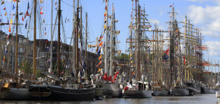 Purjelaivat Aurajoessa Tall Ships Races 2017