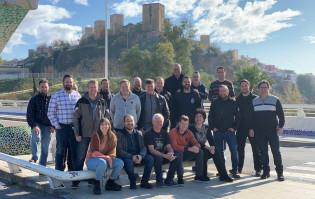 Inclusive Emergency projektiryhmä Kick off -palaverissa Espanjassa