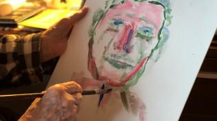 Omakuvan maalaaminen