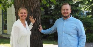 Johanna Wikberg ja Oskari Orvasto