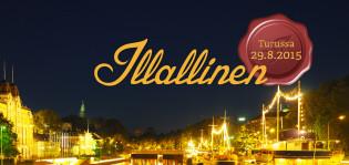Illallinen Turun taivaan alla järjestetään lauantaina 29.8.