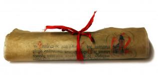 Joulurauhanjulistuspergamentti