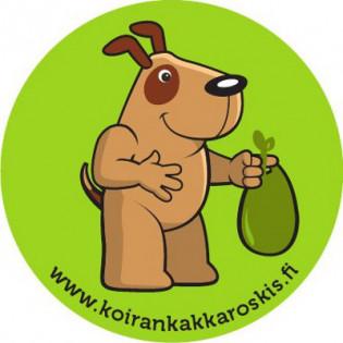 Koirankakkaroskis-palvelun logo