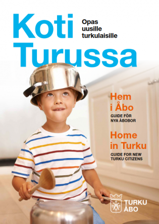 Koti Turussa -oppaan kansi