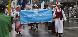 Turkulaiset tanssijat Namurissa