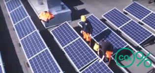 Aurinkopaneelit Kupittaalla