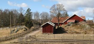Kuralan Kylämäki kevätmaisema