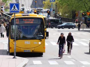 Liikenneympäristökysely. Kuva: Saara Norrgatan