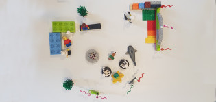CoSIE, työpaja, syrjäytymisen ehkäisy, Lego-mallinnos