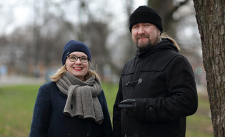 Maarit Leskelä-Kärki ja Kimi Kärki