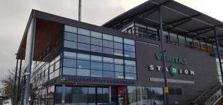 Turun kaupungin liikuntapalvelukeskus Veritas-stadionilla