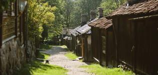 Kujanäkymä Luostarinmäeltä.