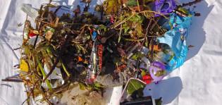 Meriroskikseen kerääntyi yhteensä 77 kiloa materiaalia