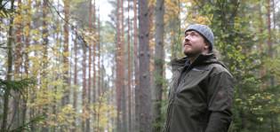 Metsätalousinsinööri Timo Vahala